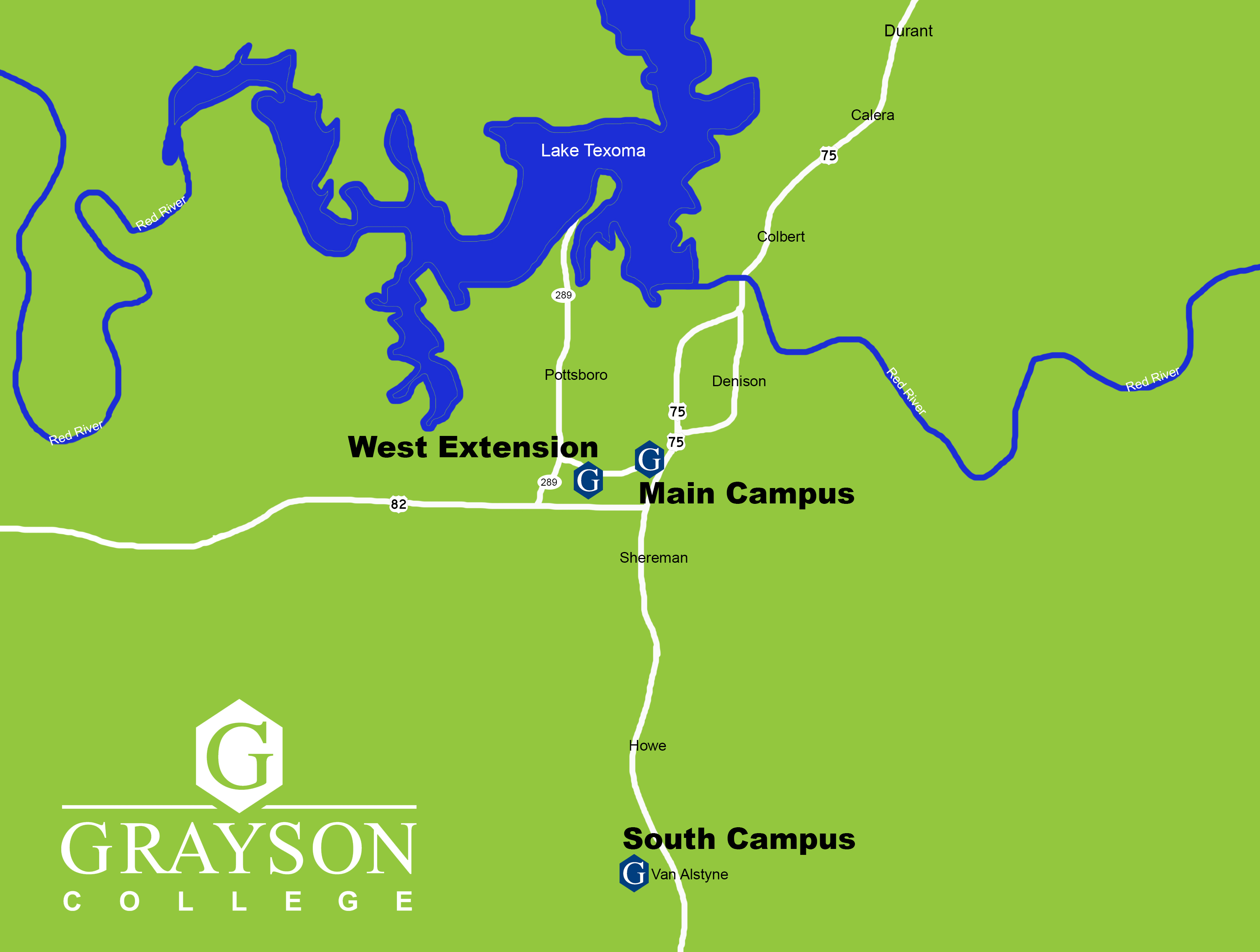 Navarro College Campus Map.Grayson College Maps And Locations